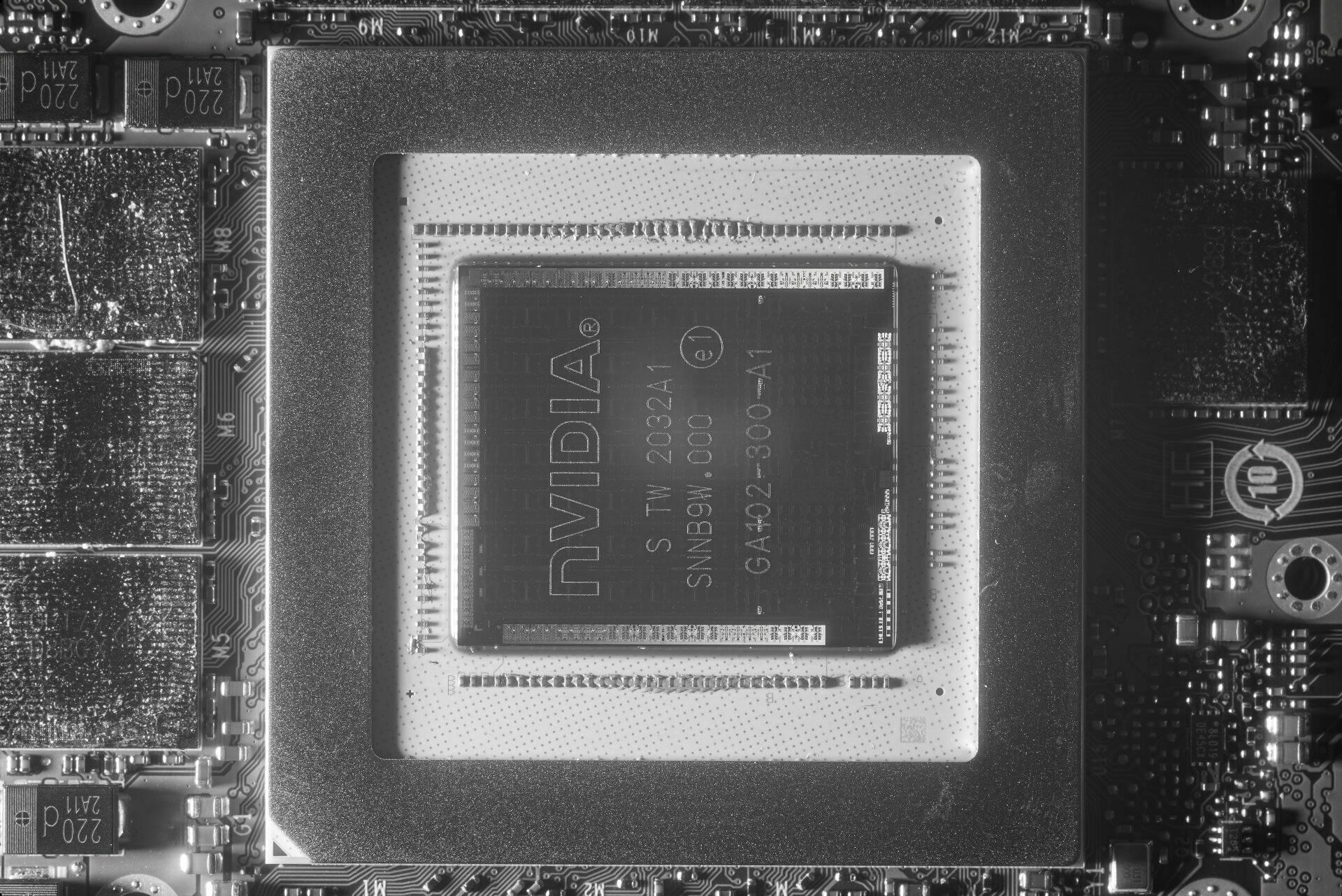 GA102 Nvidia IR