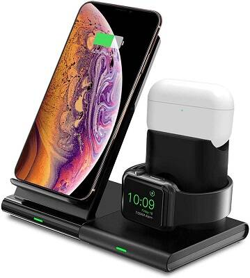 Hoidokly Caricatore Wireless