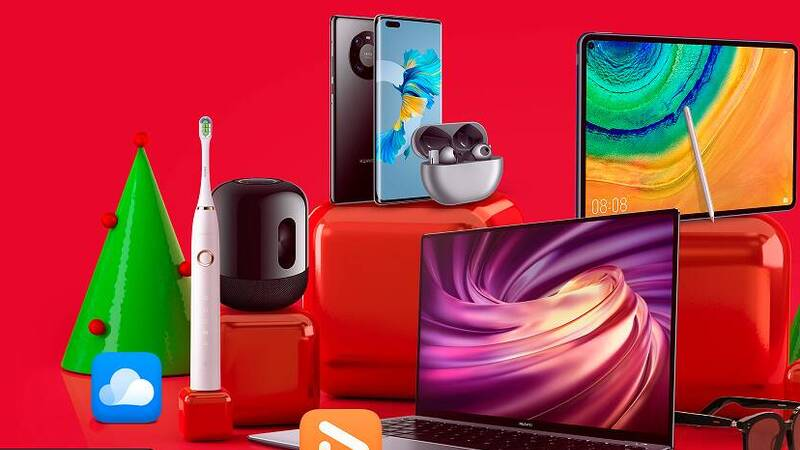 Huawei, up to 50% off with Christmas offers