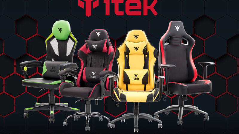 The new line of itek gaming chairs is here!