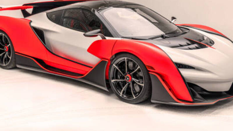 McLaren Saber: hypercar for America with 835 hp and 349 km / h top speed