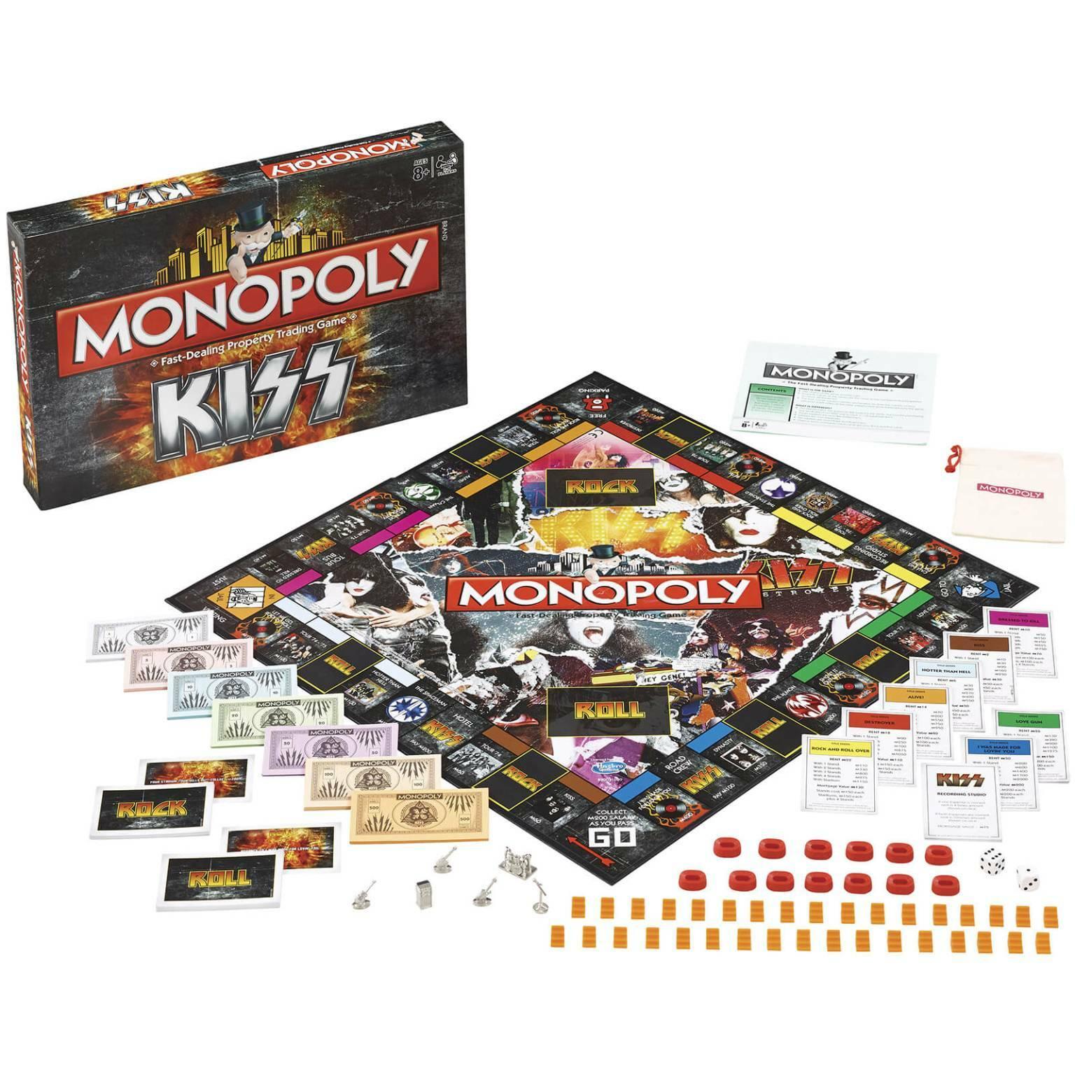 monopoly kiss