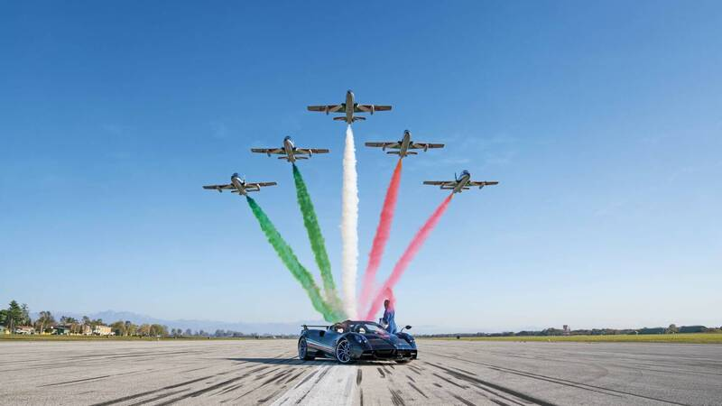 Pagani Huayra Tricolore: homage to Italy with 840 hp worth 5 million euros