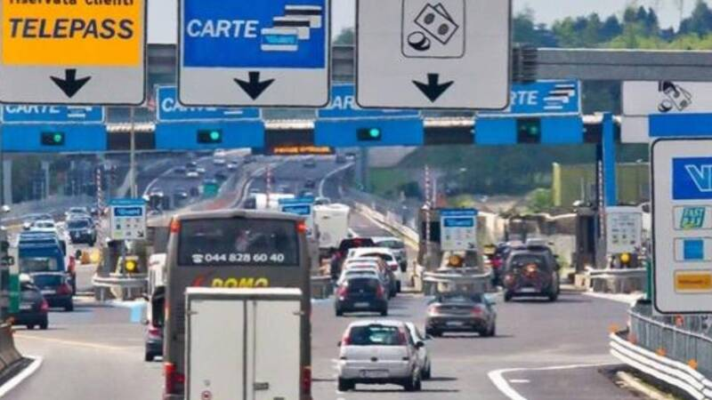 New motorway toll: higher rates for more polluting cars