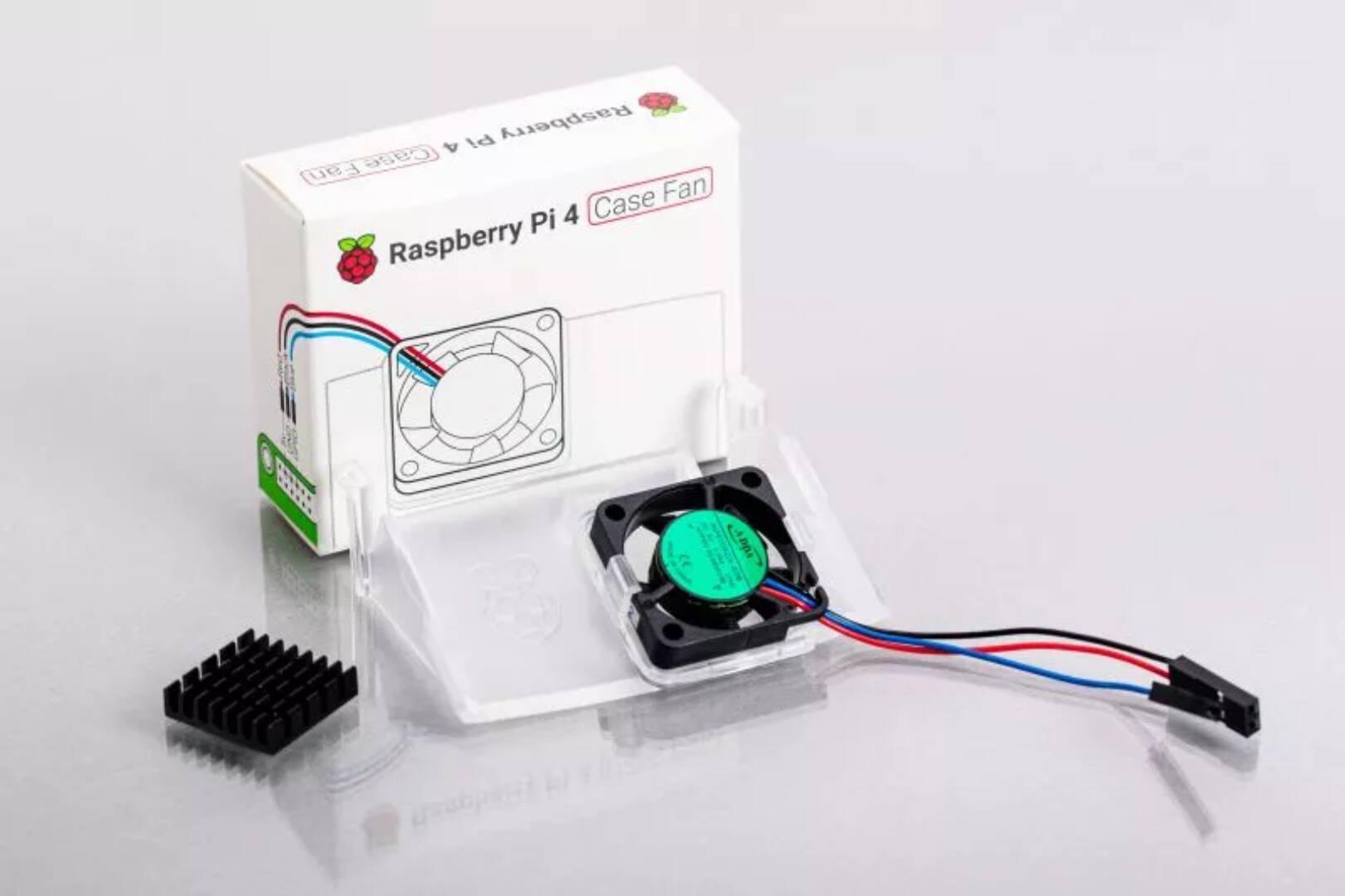 Raspberry Pi 4 Ventola