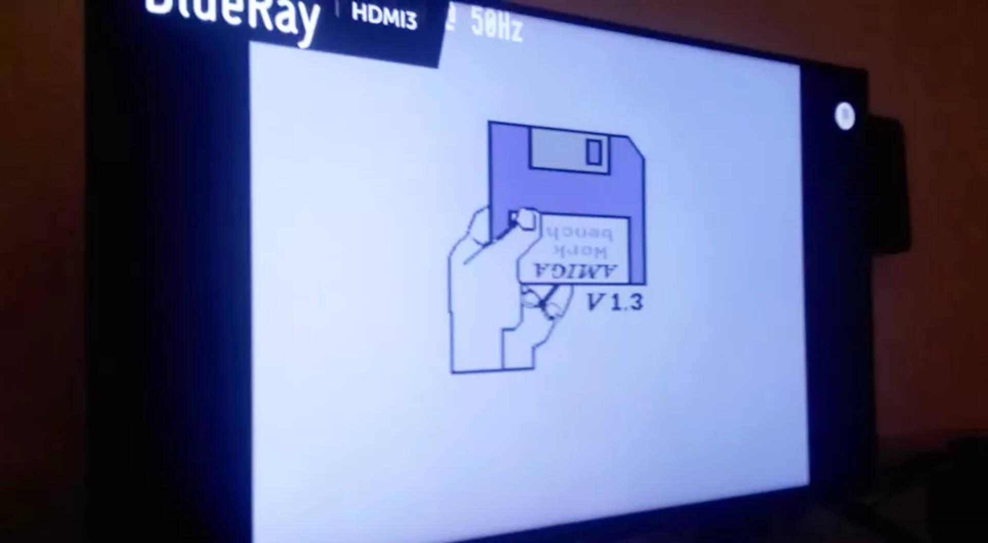 Raspberry Pi Amiga 500