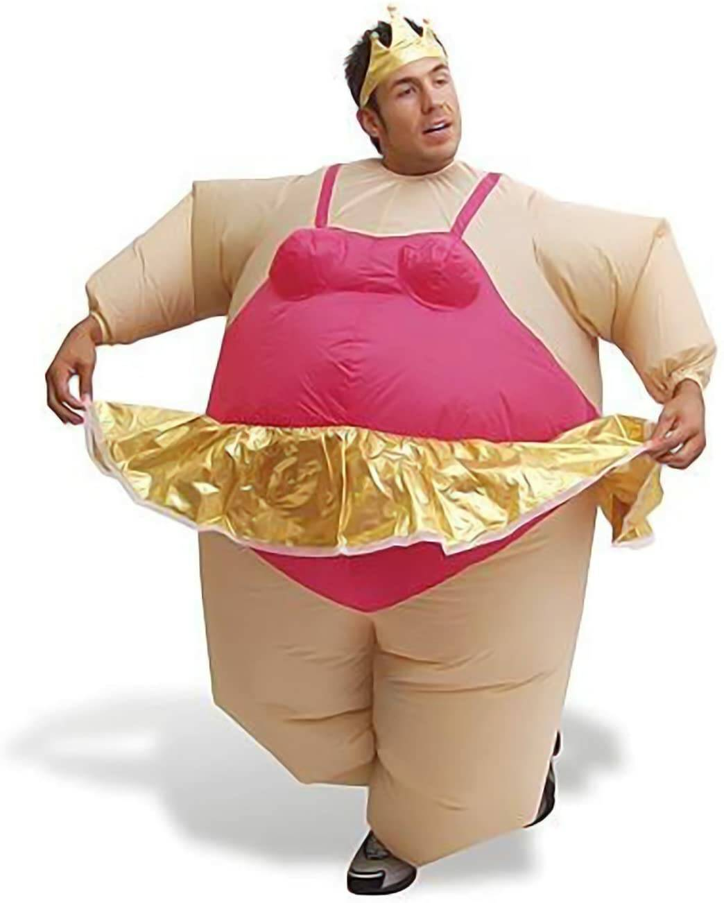 costume gonfiabile ballerina