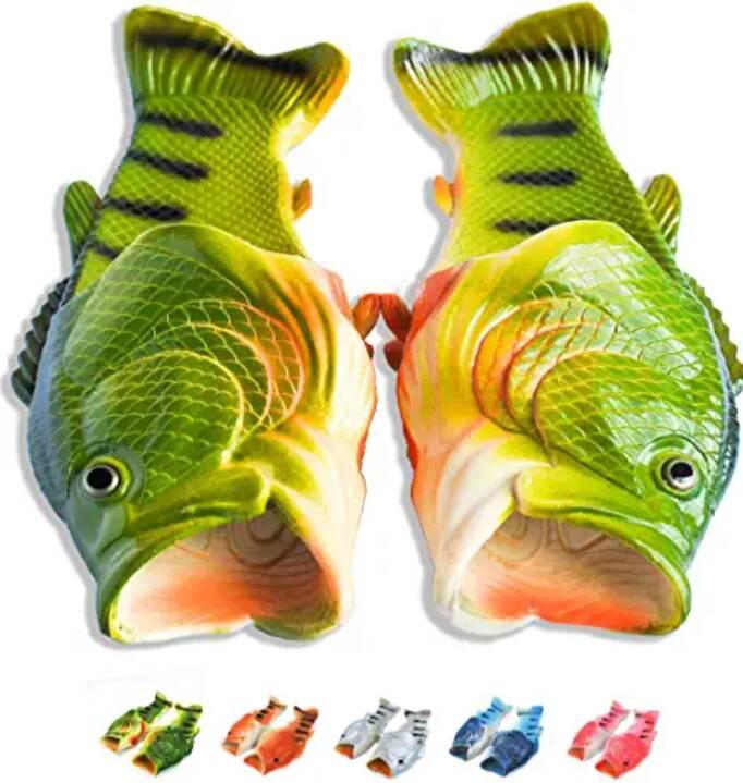 pantofole pesce