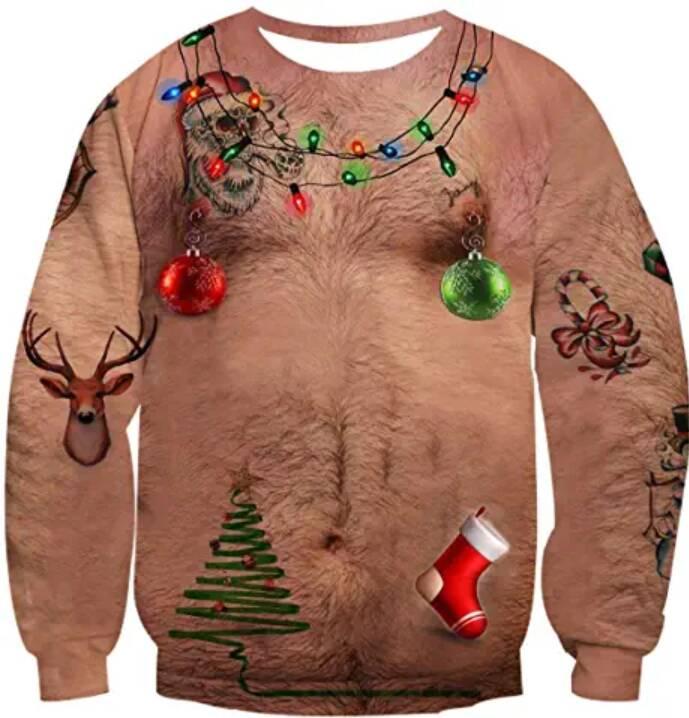 maglione brutto natale