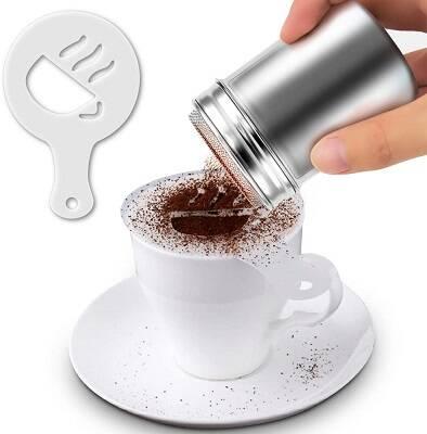 Stencil per caffè