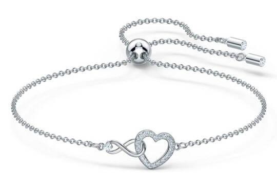 swarovski infinity heart