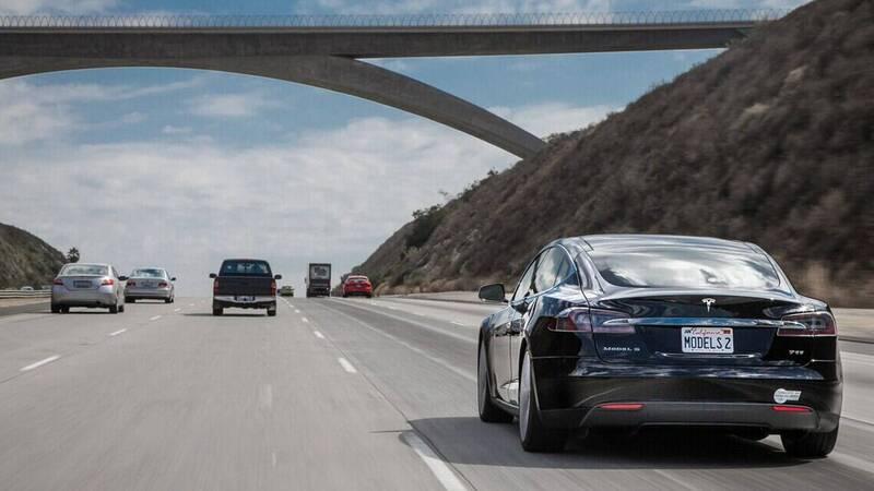 Tesla Auto Shift, the gear selector is no longer needed