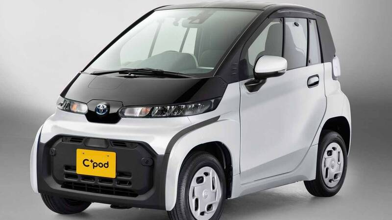 Toyota C + pod: the ideal electric supermini for the city