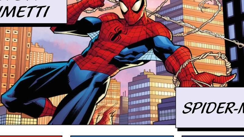 Lives in comics: Loris Cantarelli tells Spider-man