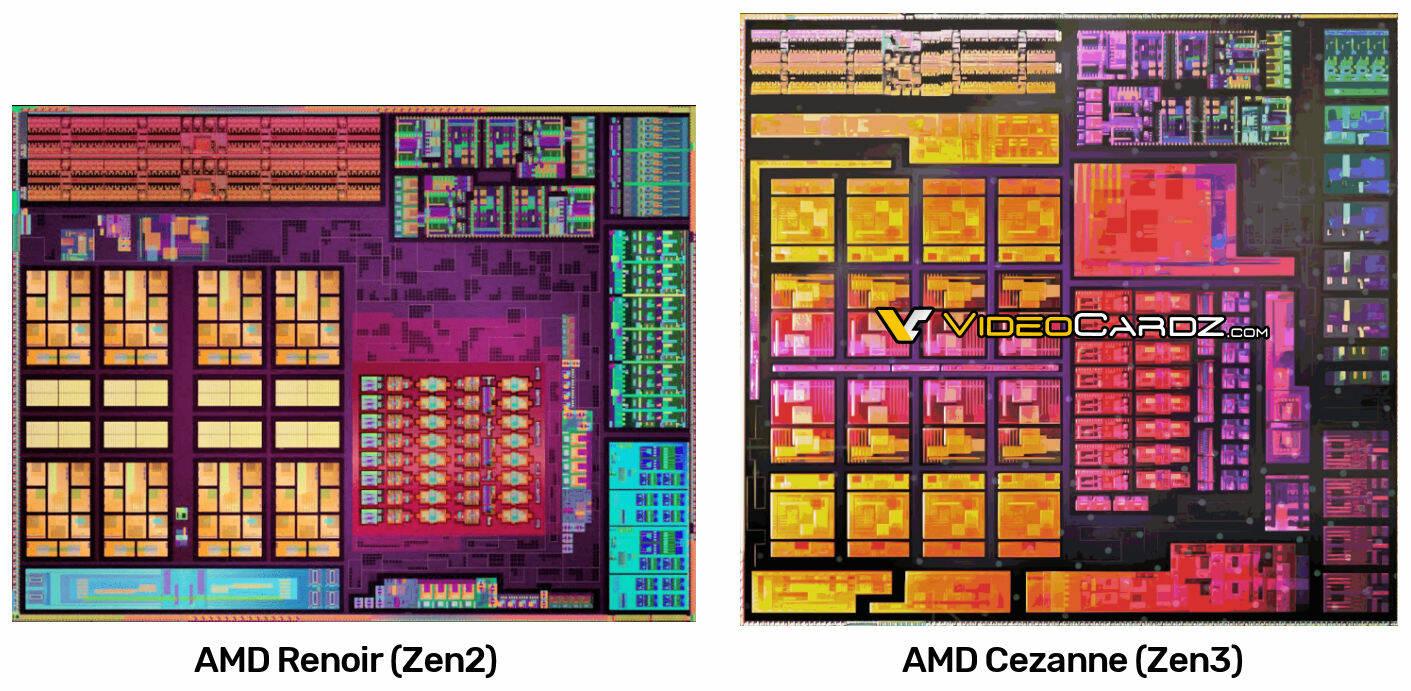 AMD Cezanne APU render