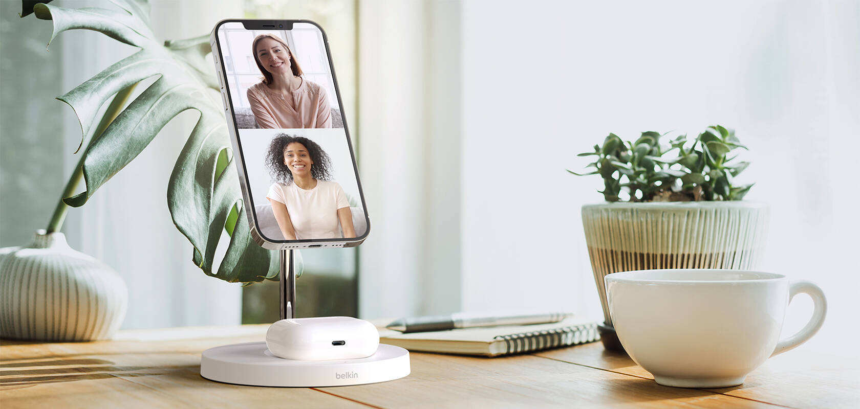 Belkin Boost Up Charge Pro 2-in-1 MagSafe