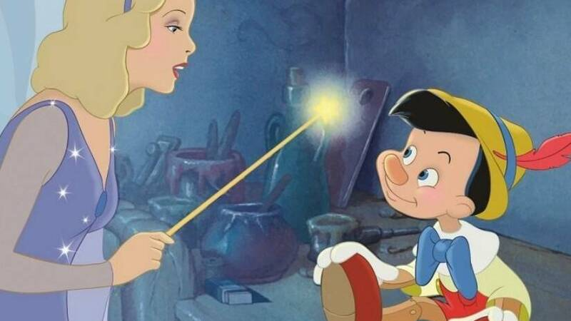 81 candles go out for the Disney movie Pinocchio