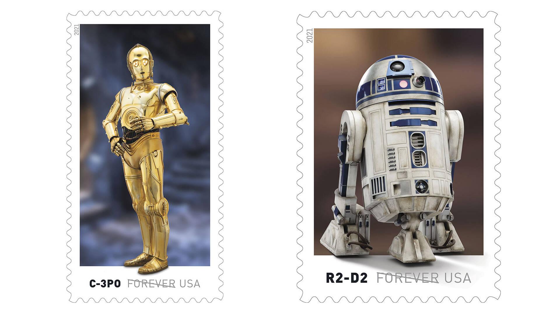 Francobolli Star Wars