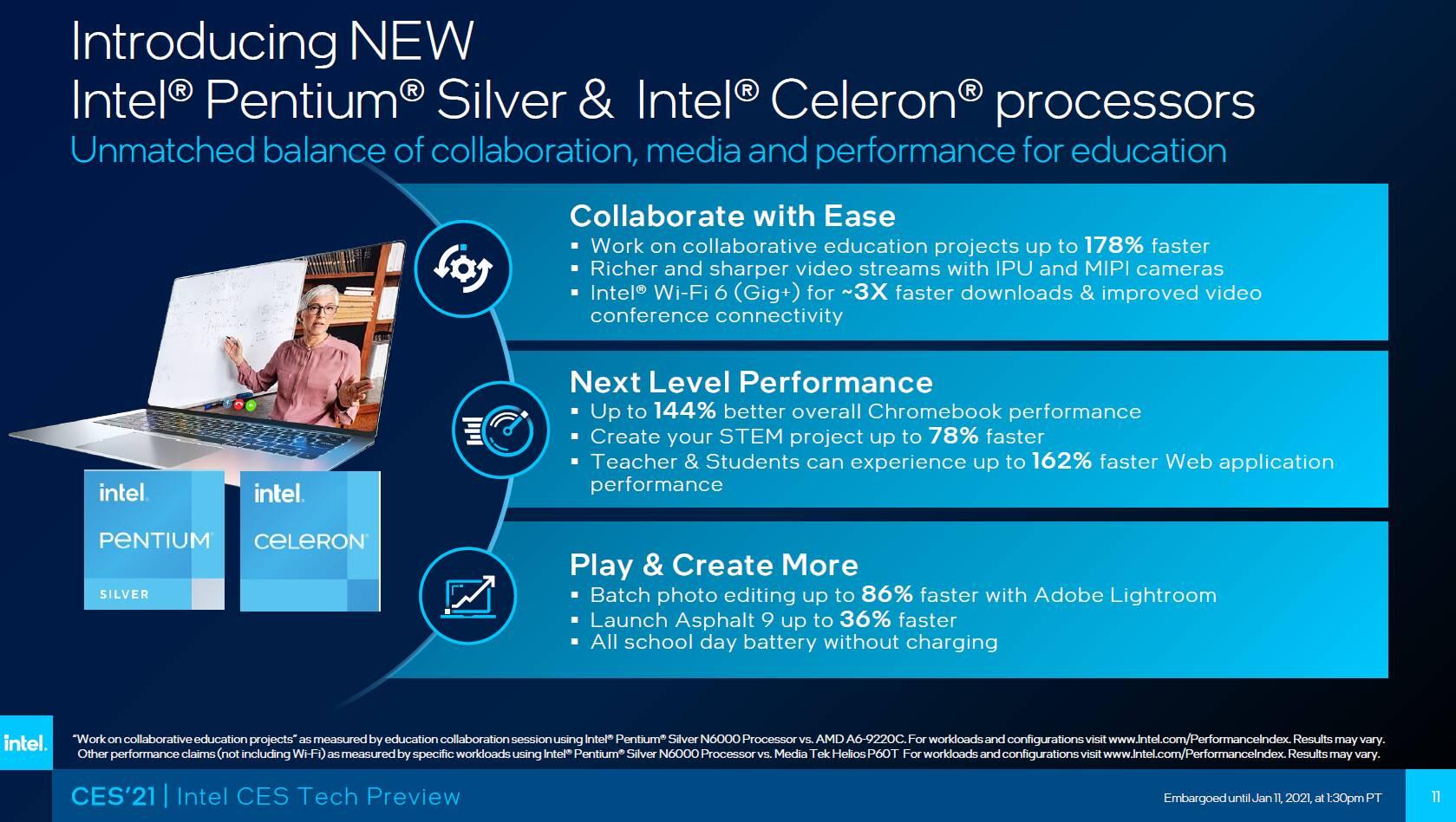 Intel Pentium e Celeron - Tremont Atom