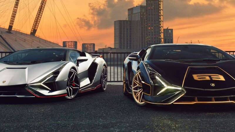 Lamborghini Sian, immortalized the two specimens arrived in the United Kingdom