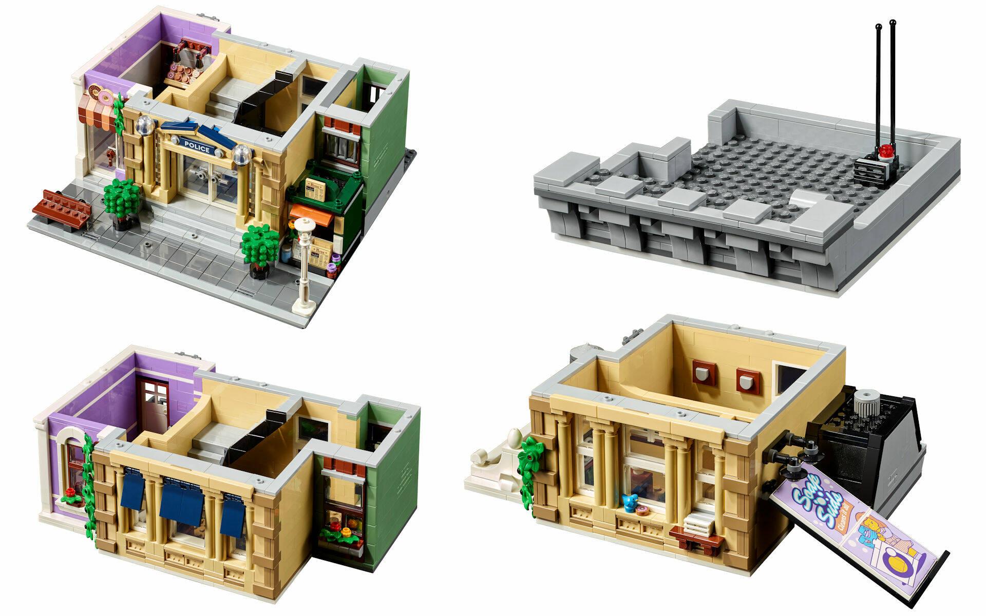 LEGO 18 PLUS MODULAR BUILDING 10278 Stazione di Polizia
