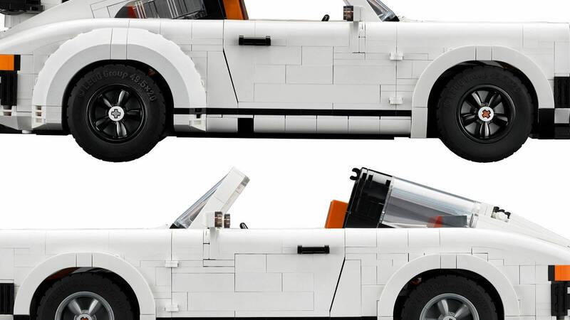 LEGO Creator Expert # 10295 Porsche 911: the German icon becomes bricks!