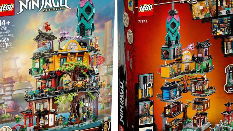 LEGO: il set #71741 Giardini di NINJAGO  …