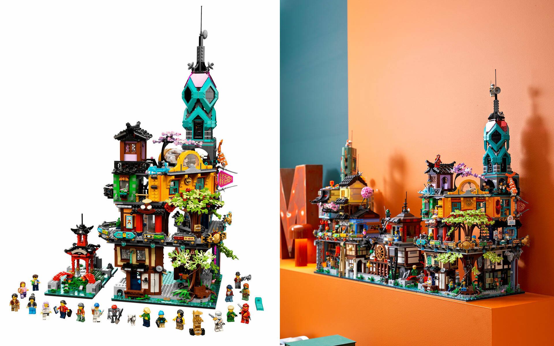 LEGO NINJAGO LEGACY 71741 GIARDINI DI NINJAGO CITY