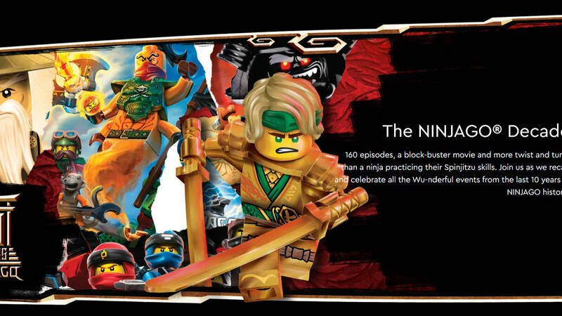 LEGO Ninjago: all the initiatives for its 10th anniversary