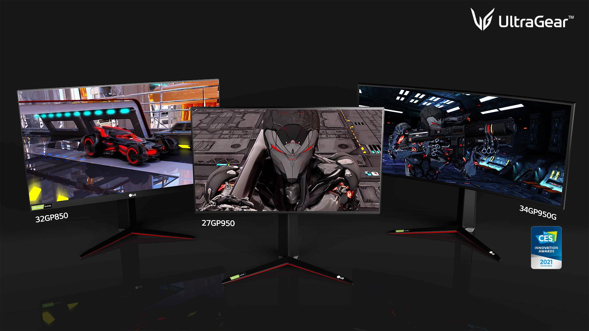 LG UltraGear CES 2021