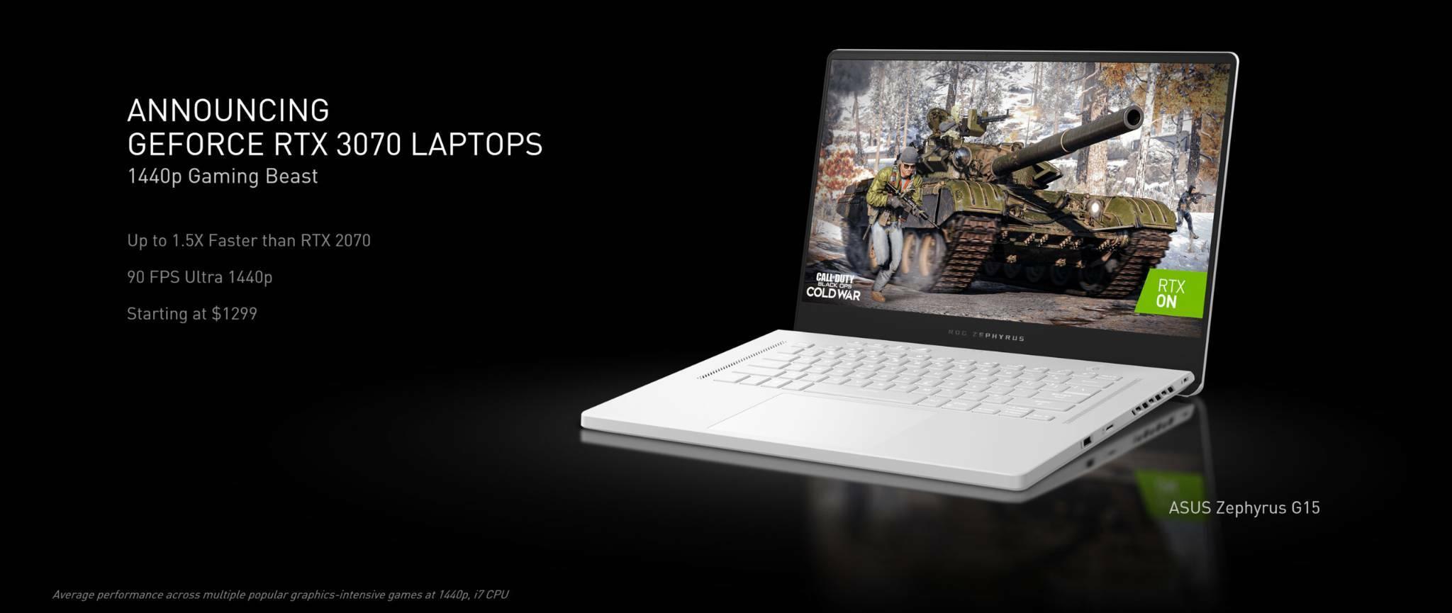 NVIDIA GeForce RTX 3070 Mobile