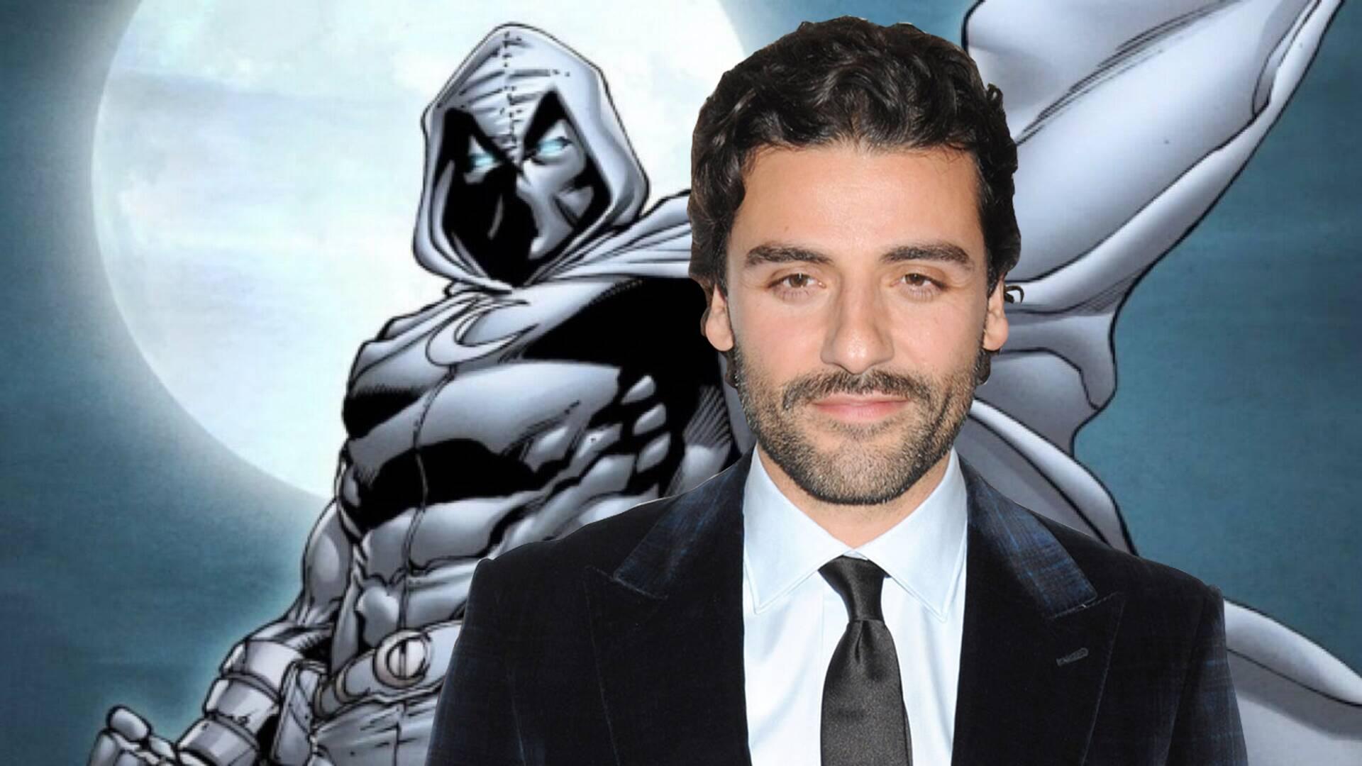 Oscar Isaac aka moon knight