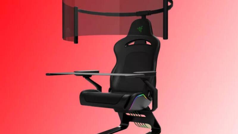 Razer, la sedia gaming del futuro avrà  …