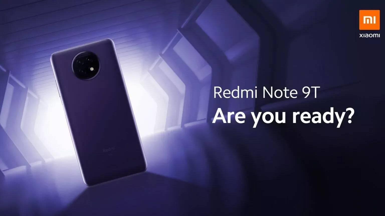 Redmi Note 9T 5G launch event