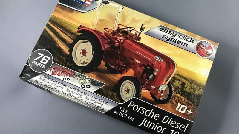 Revell Porsche Diesel Junior 108