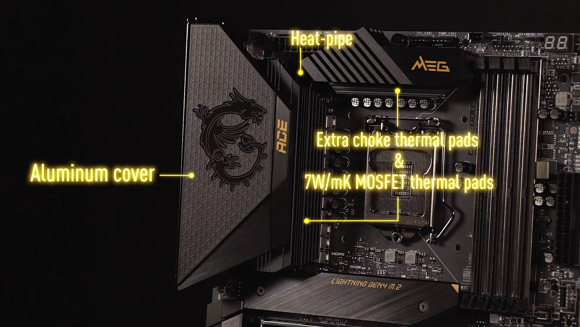 Scheda Madre MSI Z590 Circuiteria