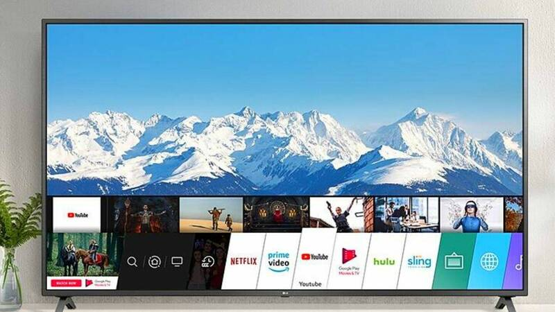 LG Nano Cell 81 Smart TV on super offer with Google Nest Hub 2 as a gift!