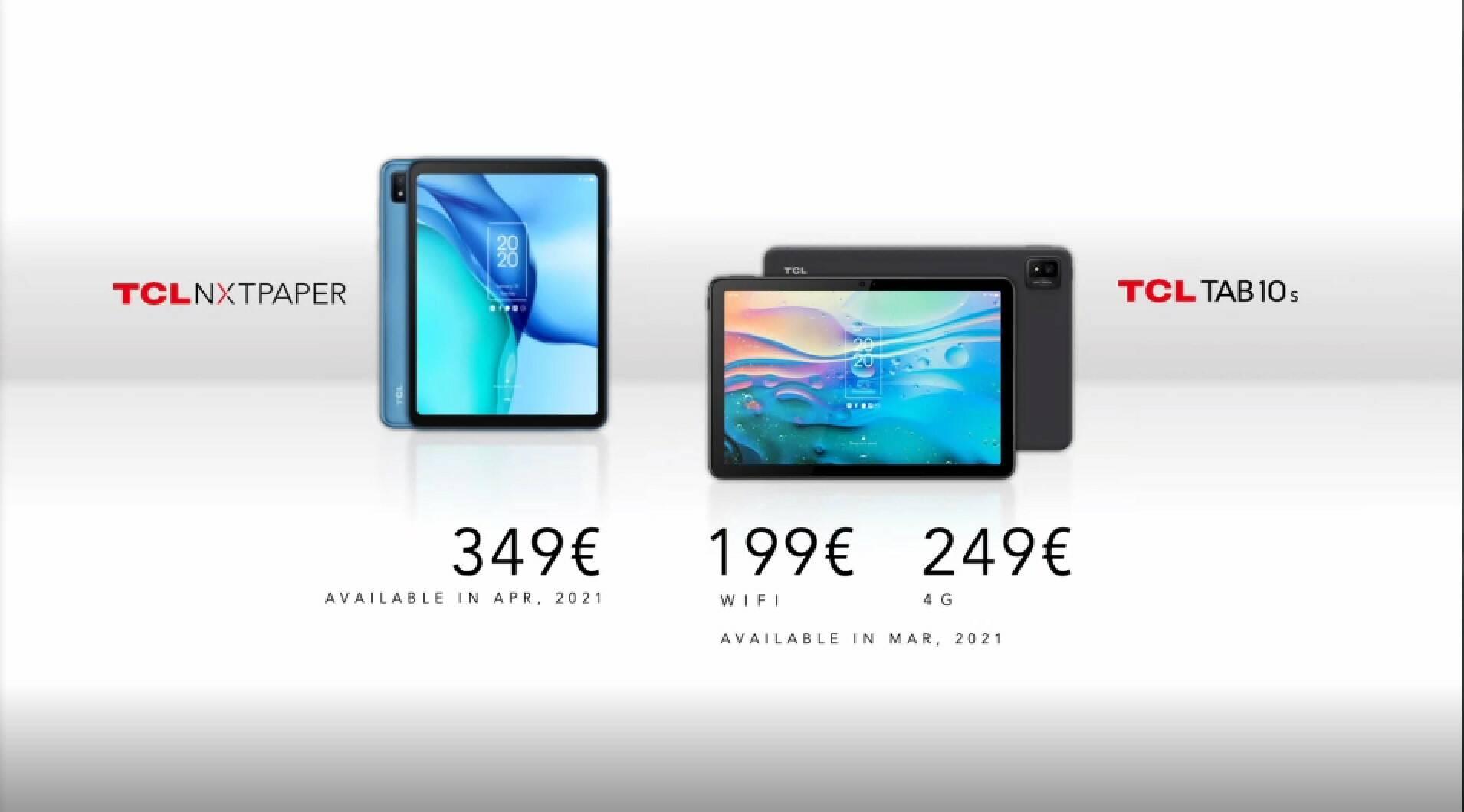 TCL tablet CES 2021
