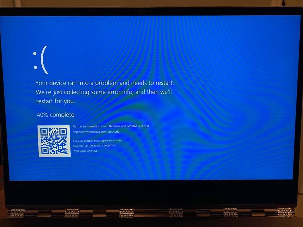 Windows 10 BSOD path