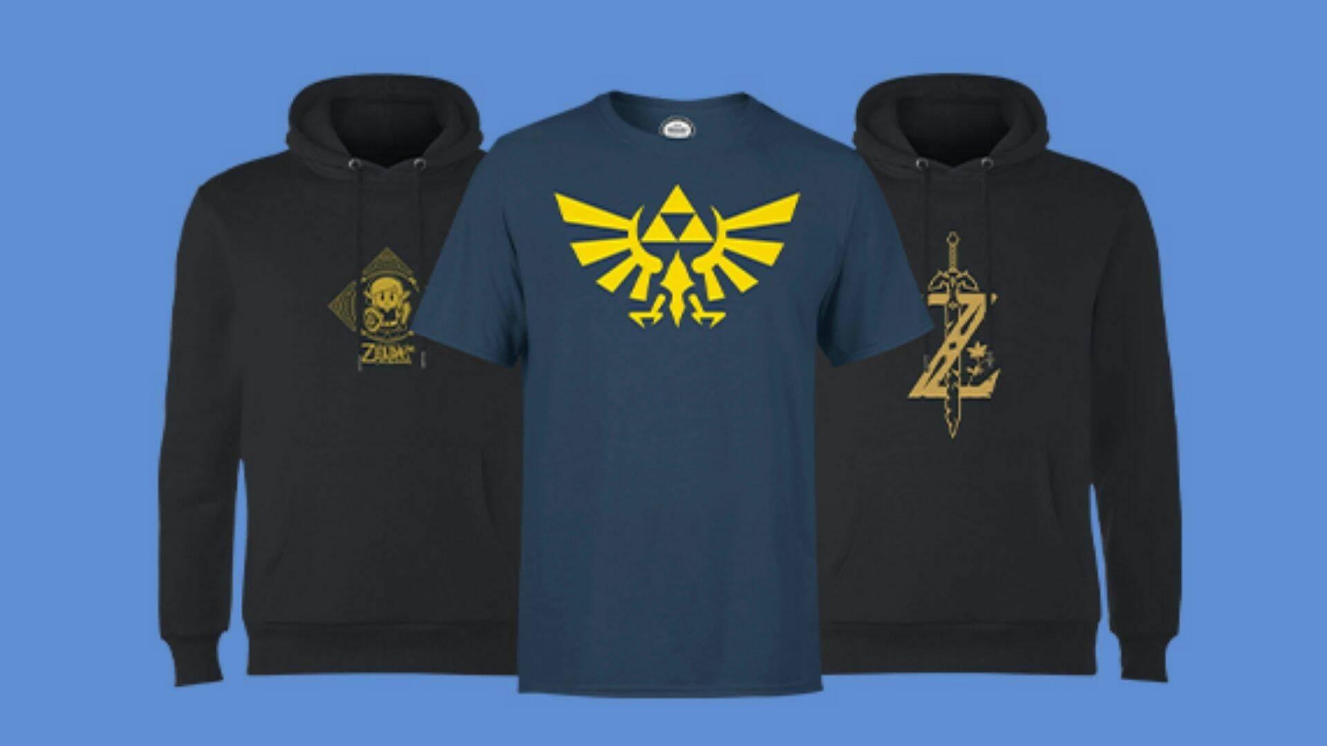 abbigliamento Nintendo in offerta Zavvi
