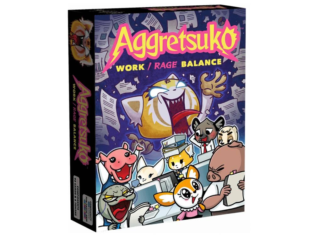 Aggretsuko gioco in scatola