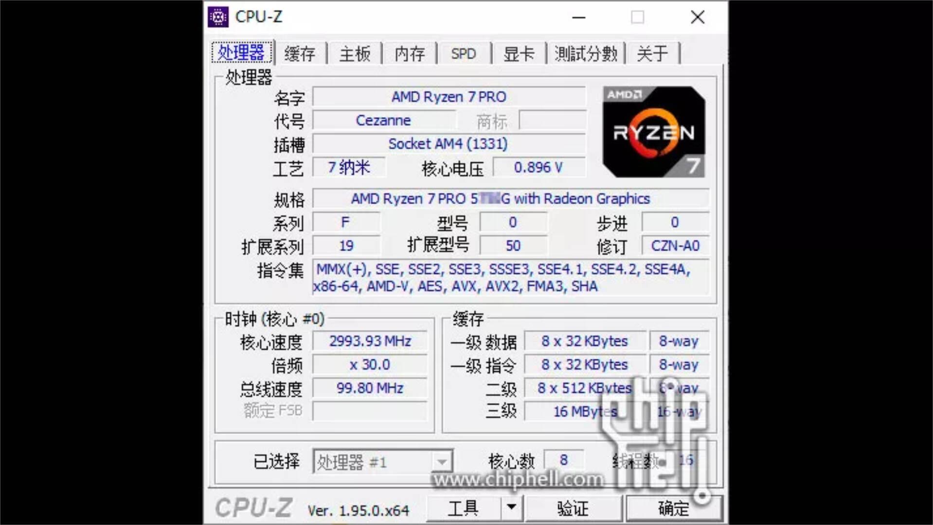 AMD Ryzen 7 Pro 5750G