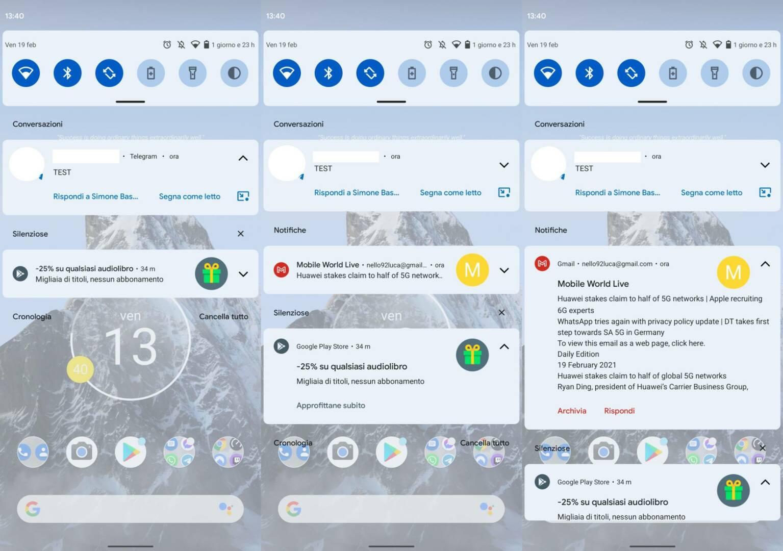 Android 12 novità