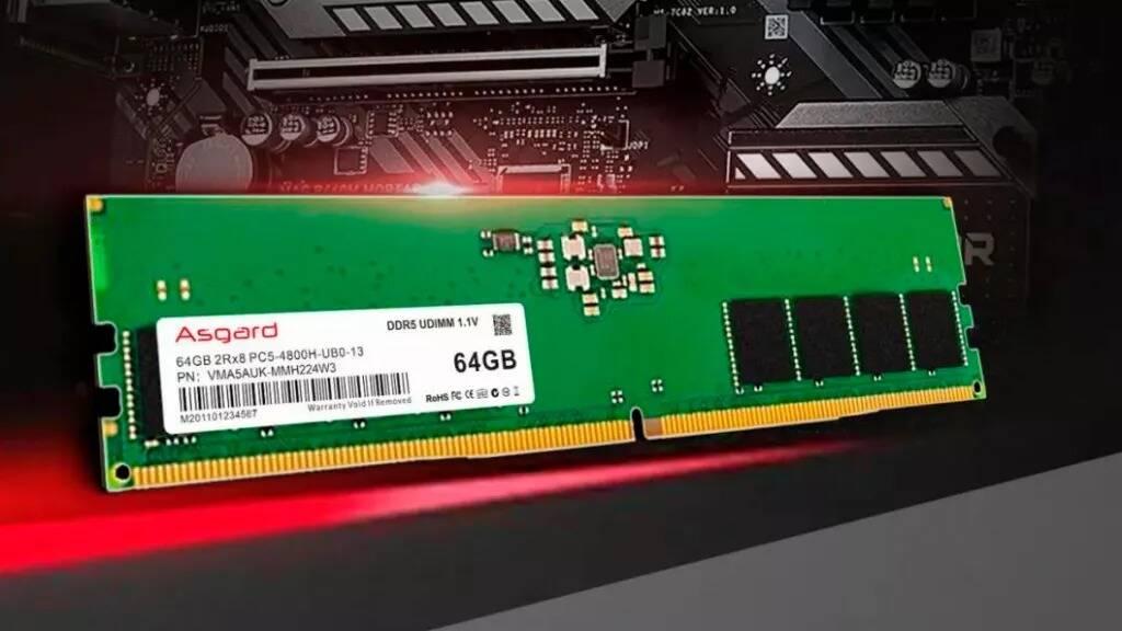 Asgard DDR5 DRAM
