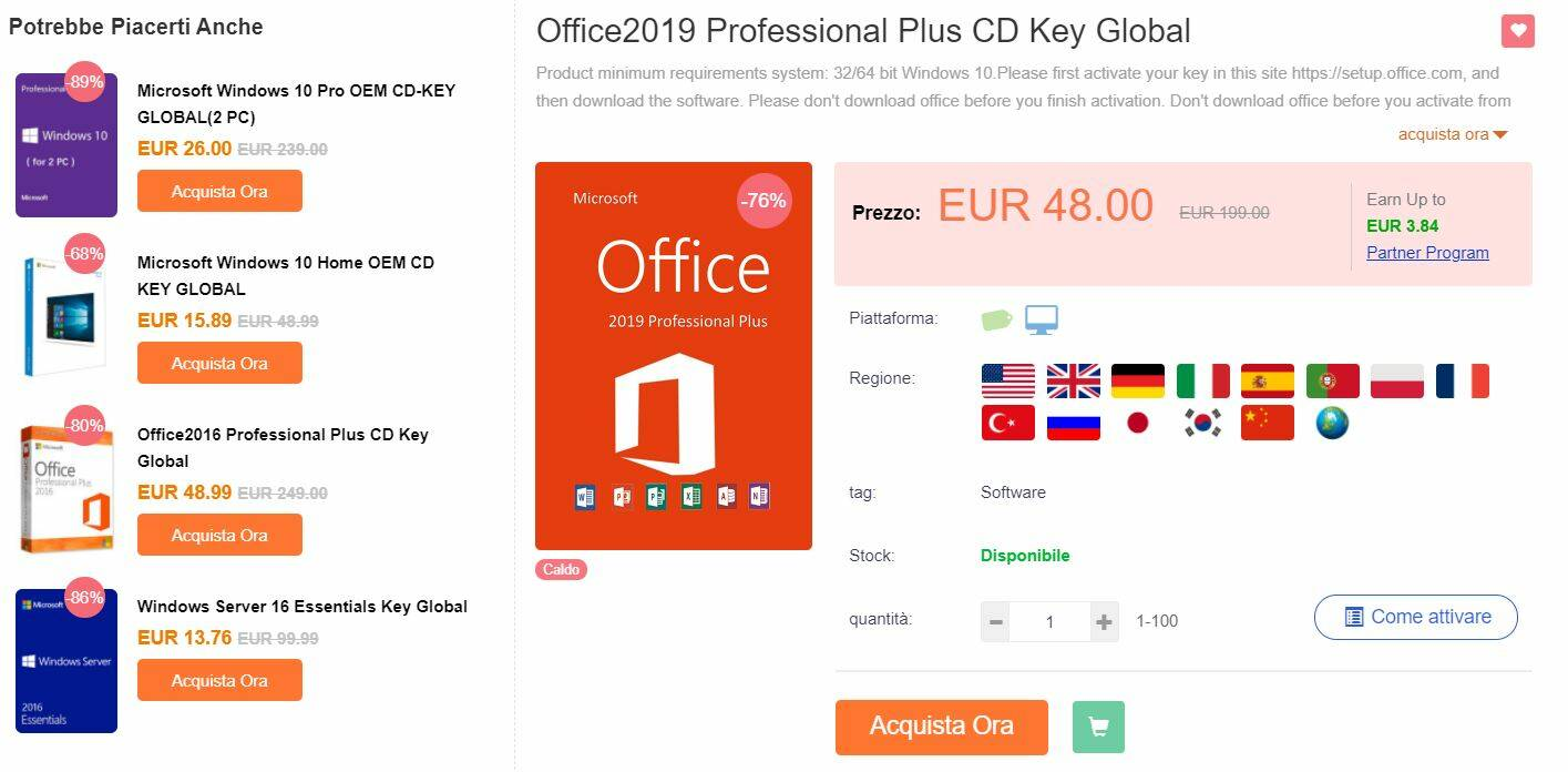 CDKoffers Office 2019 Pro Plus coupon