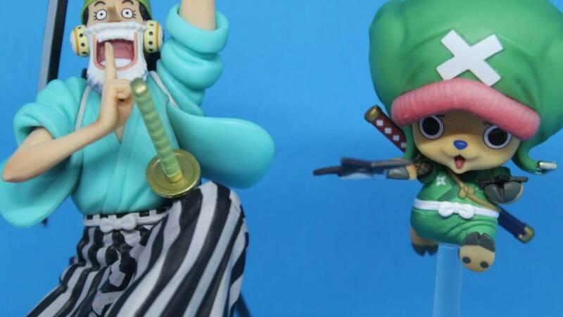 One Piece: Tony Tony Chopper & Usopp Figuarts Zero: the review