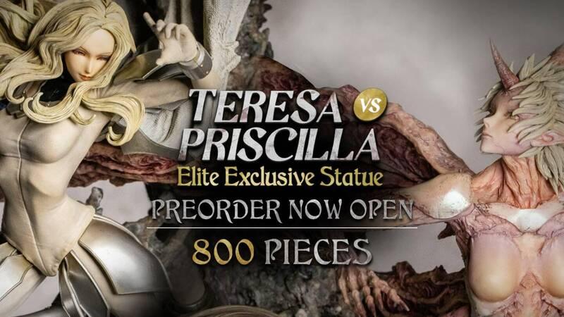 Figurama Collectors: Teresa vs Priscilla, pre-orders open