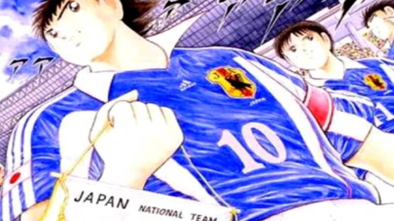 Yoichi Takahashi (Holly & Benji) designs Diego Armando Maradona
