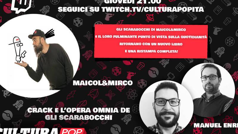 CulturaPOP presents: the comic and its authors - Gli Scarabocchi di Maicol & Mirco