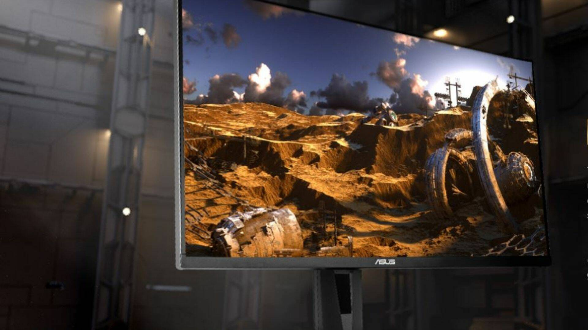 Gaming Week monitor